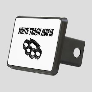 White Trash Mafia Brass Knuckles Hitch Cover