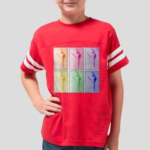 Rainbow Ballet Dancer Youth Football Shirt