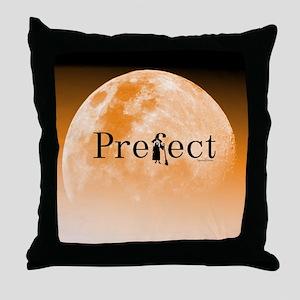 Prefect Orange Throw Pillow