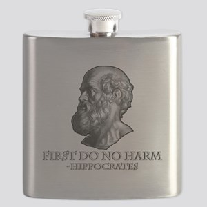 First do no harm Hippocrates Flask