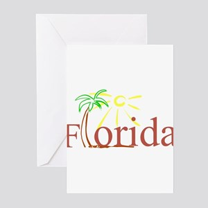 Florida Palm Greeting Cards (Pk of 10)
