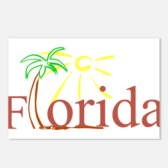 Florida Palm Postcards (Package of 8)