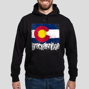 Breckenridge Grunge Flag Hoodie (dark)