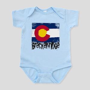 Breckenridge Grunge Flag Infant Bodysuit