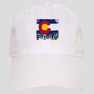 Breckenridge Grunge Flag Cap