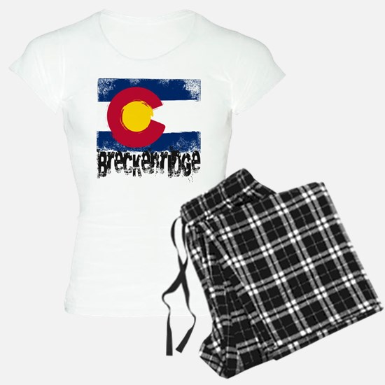Breckenridge Grunge Flag Pajamas