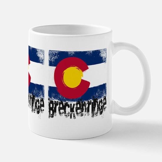 Breckenridge Grunge Flag Mug