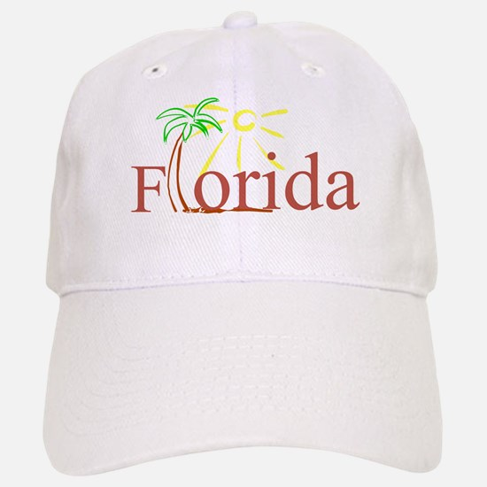 Florida Palm Baseball Baseball Cap