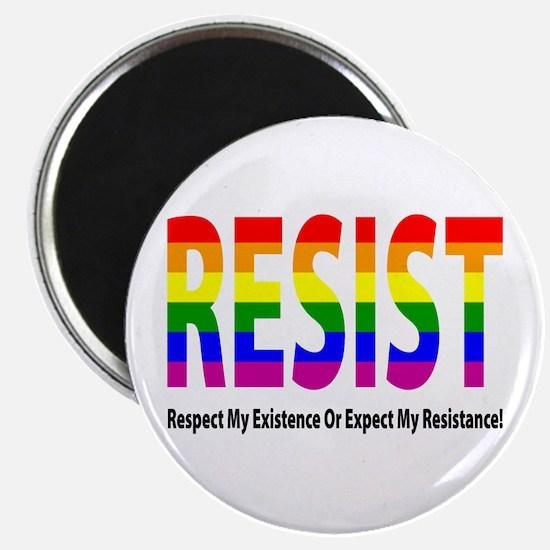 Lgbt - Resist Magnets