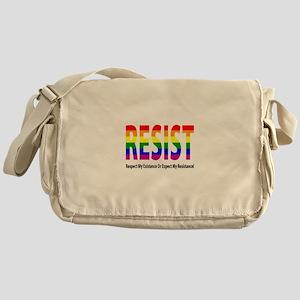 LGBT - Resist Messenger Bag