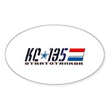 KC-135 Oval Sticker