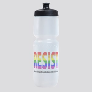 LGBT - Resist Sports Bottle