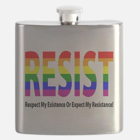 LGBT - Resist Flask