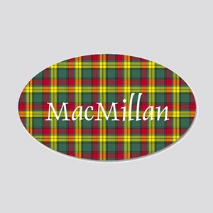 Tartan - MacMillan 20x12 Oval Wall Decal