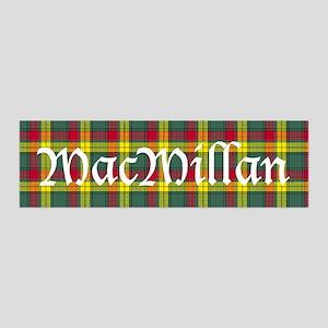 Tartan - MacMillan 36x11 Wall Decal