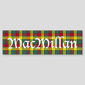 Tartan - MacMillan Sticker (Bumper)