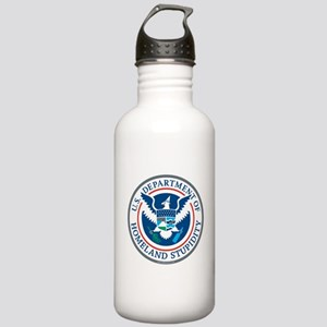 Department Of Homeland Stupidity Water Bottle