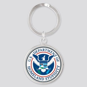Department Of Homeland Stupidity Keychains