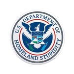 "Department Of Homeland Stupidity 3.5"" Button"