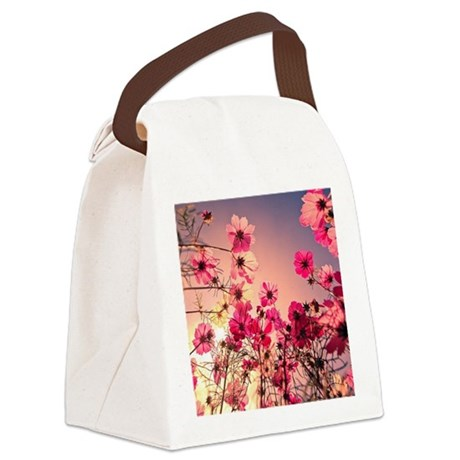 Pretty Things Canvas Lunch Bag