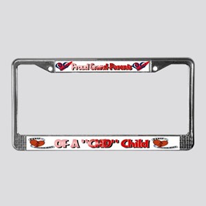 CHD Awareness License Plate Frame