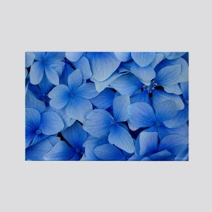 Blue Beauty Rectangle Magnet