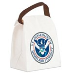 Department Of Homeland Stupidity Canvas Lunch Bag