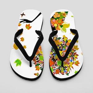 163318d6b02761 African American Flip Flops - CafePress