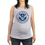 Department Of Homeland Stupidity Maternity Tank To