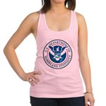 Department Of Homeland Stupidity Racerback Tank To
