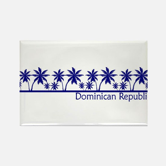Cute Dominican Rectangle Magnet