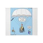 Wheelchair Parachute Throw Blanket
