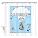 Wheelchair Parachute Shower Curtain
