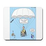 Wheelchair Parachute Mousepad