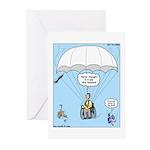 Wheelchair Parachute Greeting Cards (Pk of 20)