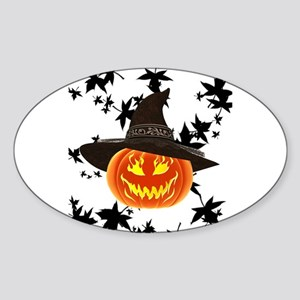 Grinning Pumpkin Sticker