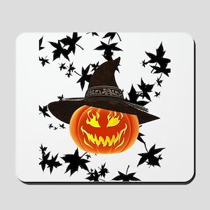 Grinning Pumpkin Mousepad