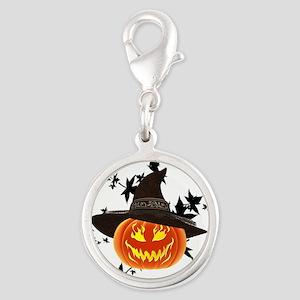 Grinning Pumpkin Charms