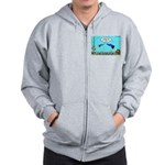 Guppy Mothers Day Zip Hoodie