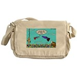 Guppy Mothers Day Messenger Bag