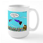 Guppy Mothers Day Large Mug