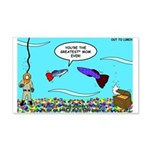 Guppy Mothers Day 20x12 Wall Decal