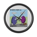 Grapes of Wrath Large Wall Clock