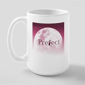 Practically Prefect! Burgundy/Pink Large Mug