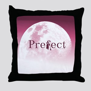 Practically Prefect! Burgundy/Pink Throw Pillow