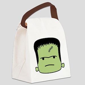 Adorable Frankenstein Canvas Lunch Bag