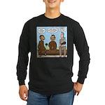 Monkey Business Long Sleeve Dark T-Shirt