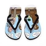 Monkey Business Flip Flops