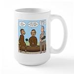 Monkey Business Large Mug