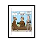 Monkey Business Framed Panel Print